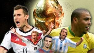 GFX Erfolgreichste WM-Torschützen
