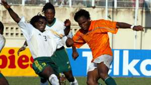 Young Didier Drogba Ivory Coast