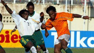 Young Didier Drogba Ivory Coast