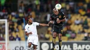 Raymond Monama and Willard Katsande - Platinum Stars v Kaizer Chiefs