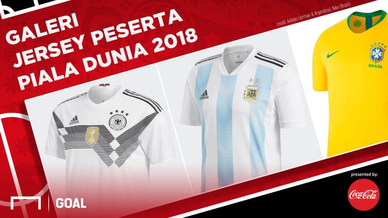 Coca-Cola Cover Jersey Piala Dunia 2018