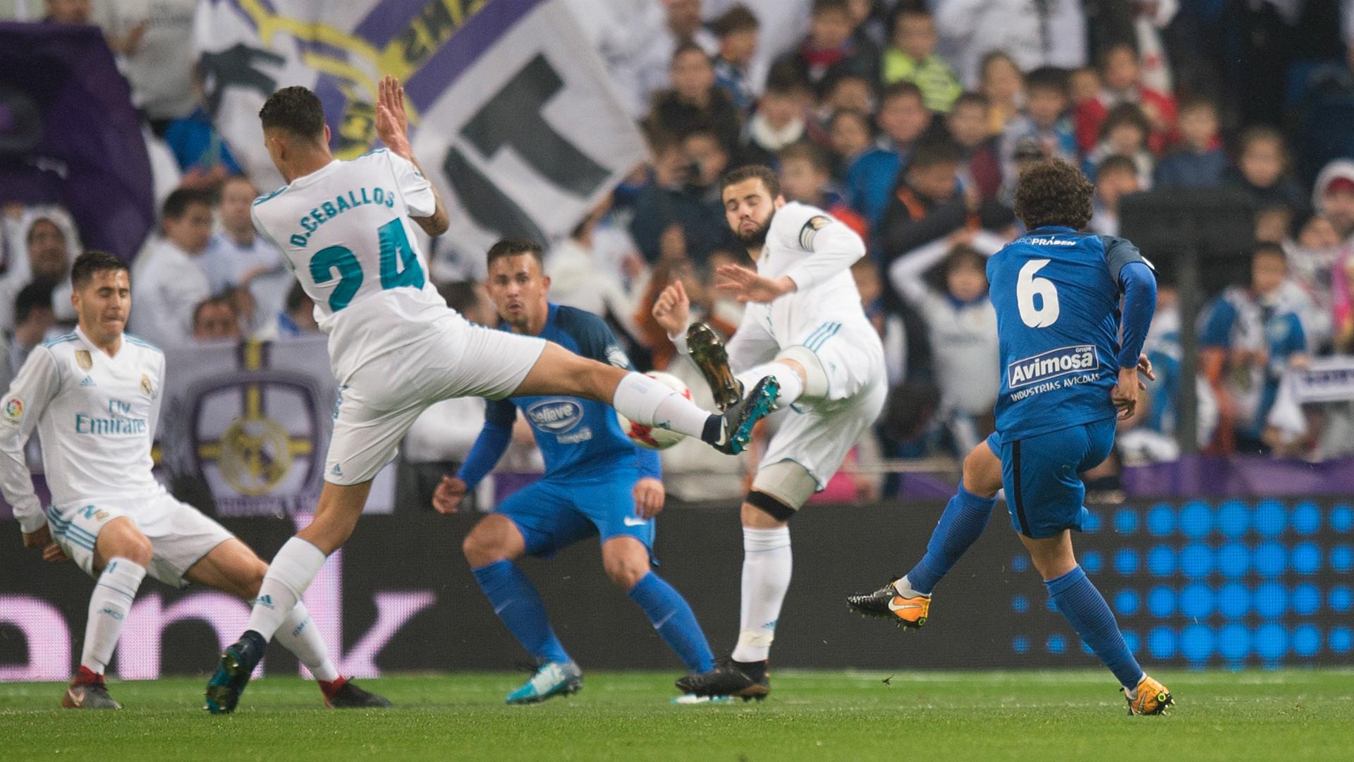 Deballos Nacho Real Madrid Fuenlabrada Copa del Rey