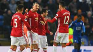 Manchester United Leicester Zlatan Ibrahimovic