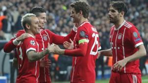 Rafinha James Müller Martinez FC Bayern 14032018
