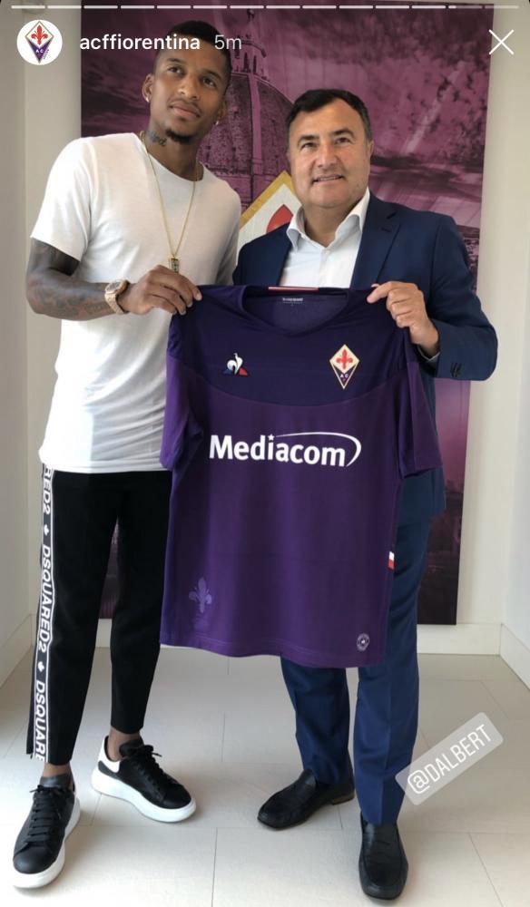 Dalbert-Barone Fiorentina