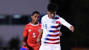 Alex Mendez USMNT U20s Costa Rica 11152018