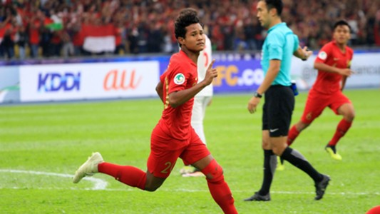 Selebrasi Amiruddin Bagus Kahfi Indonesia U-16 AFC U16