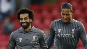 Mohamed Salah Virgil Van Dijk Liverpool