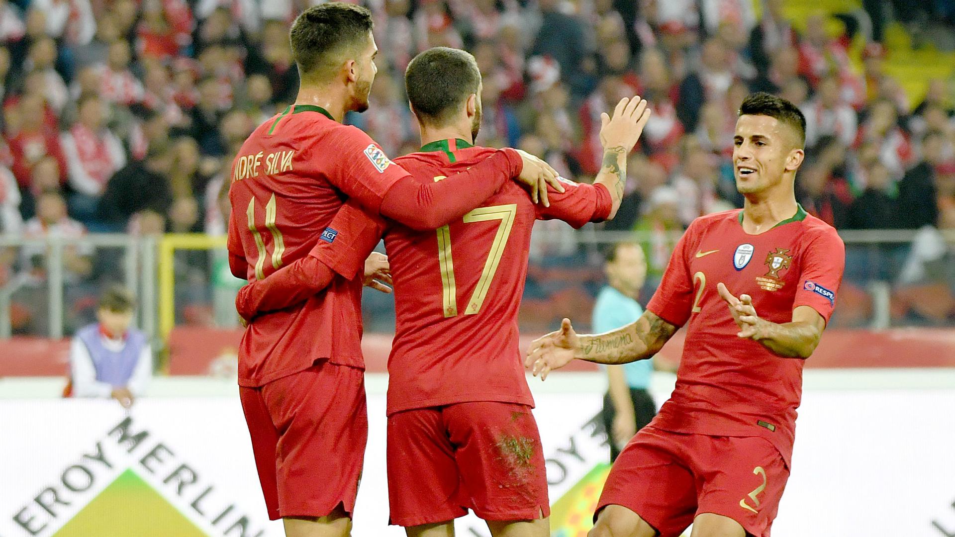 Tous les buts de Pologne-Portugal (2-3) — Ligue des nations