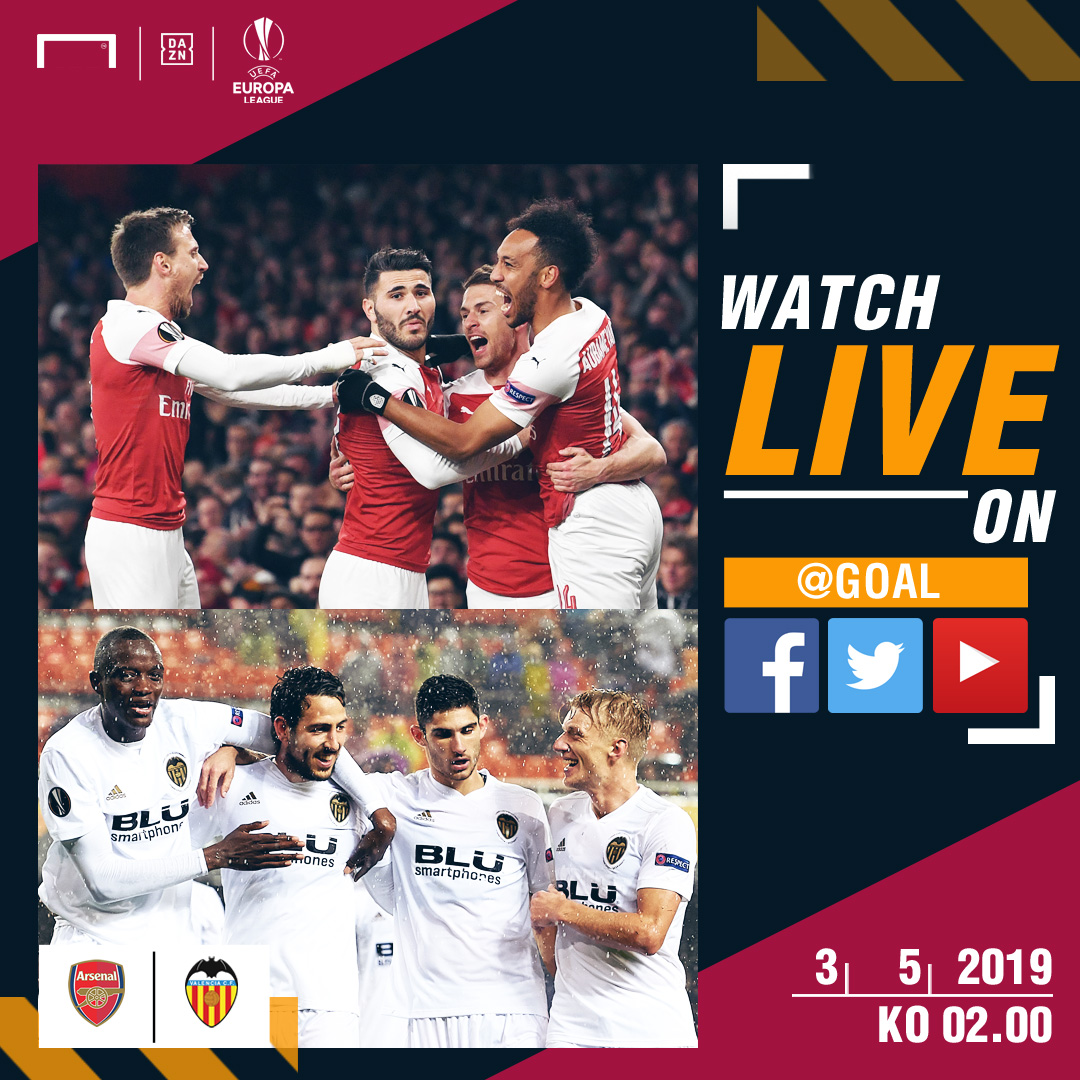 Arsenal - Valencia UCL