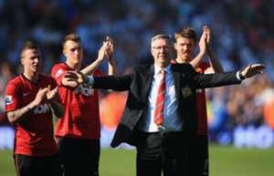 Sir Alex Ferguson's last match as Man United manager