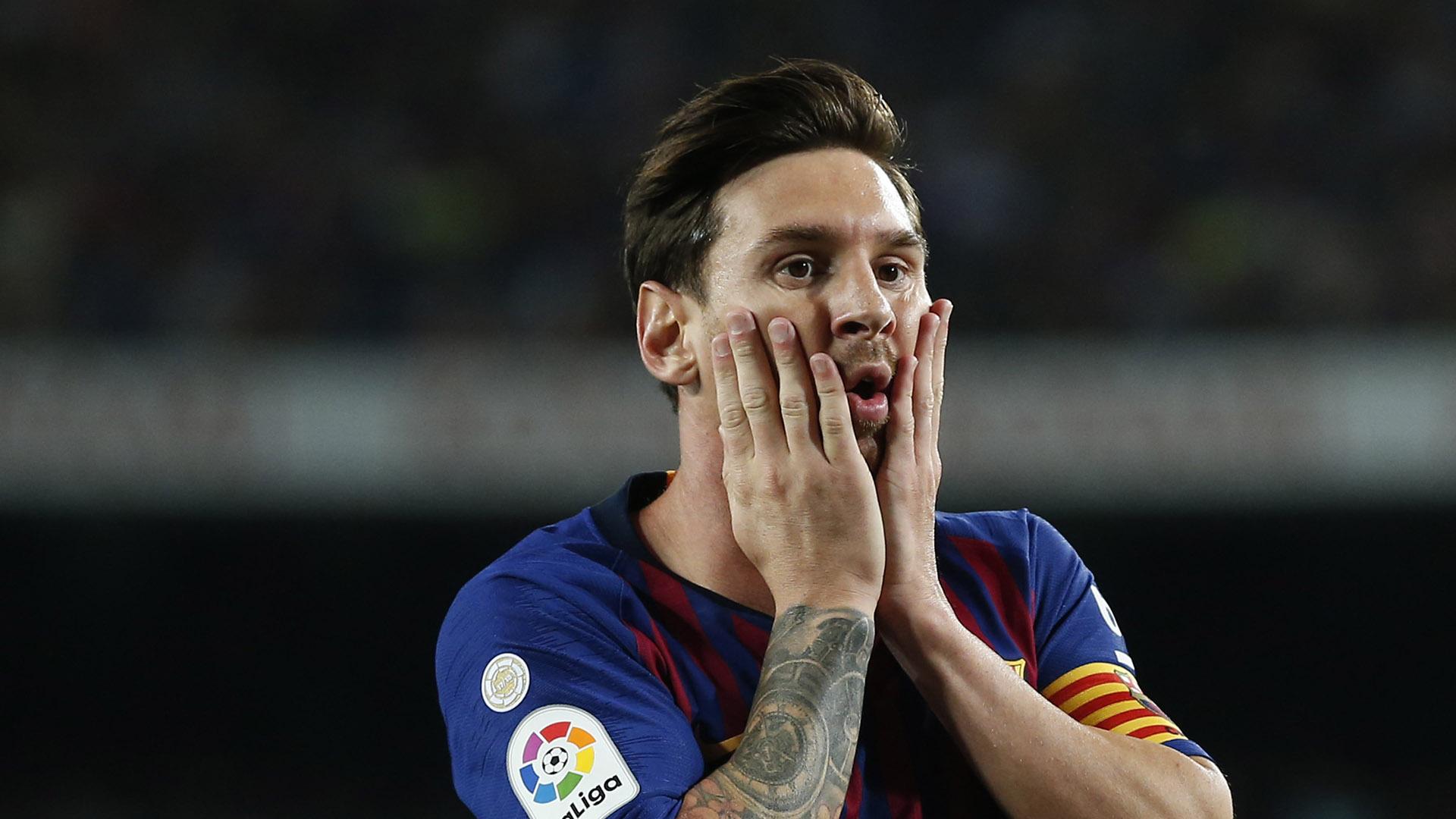 Lionel Messi Barcelona Girona La Liga 230918