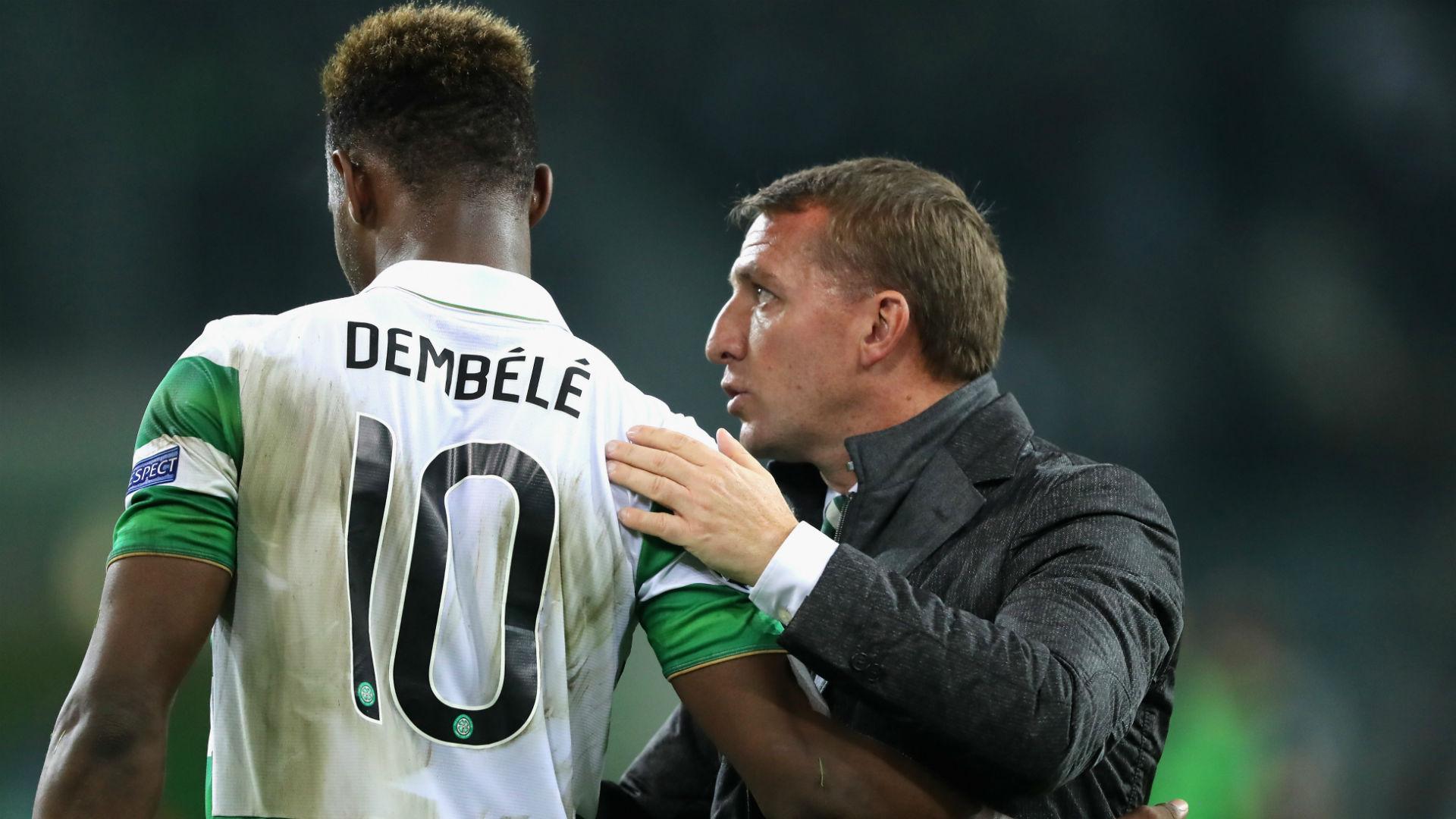 Moussa Dembele Brendan Rodgers Celtic