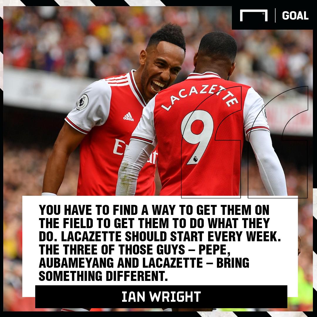 Ian Wright Arsenal PS