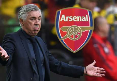 Ancelotti pleased to be linked with Arsenal job