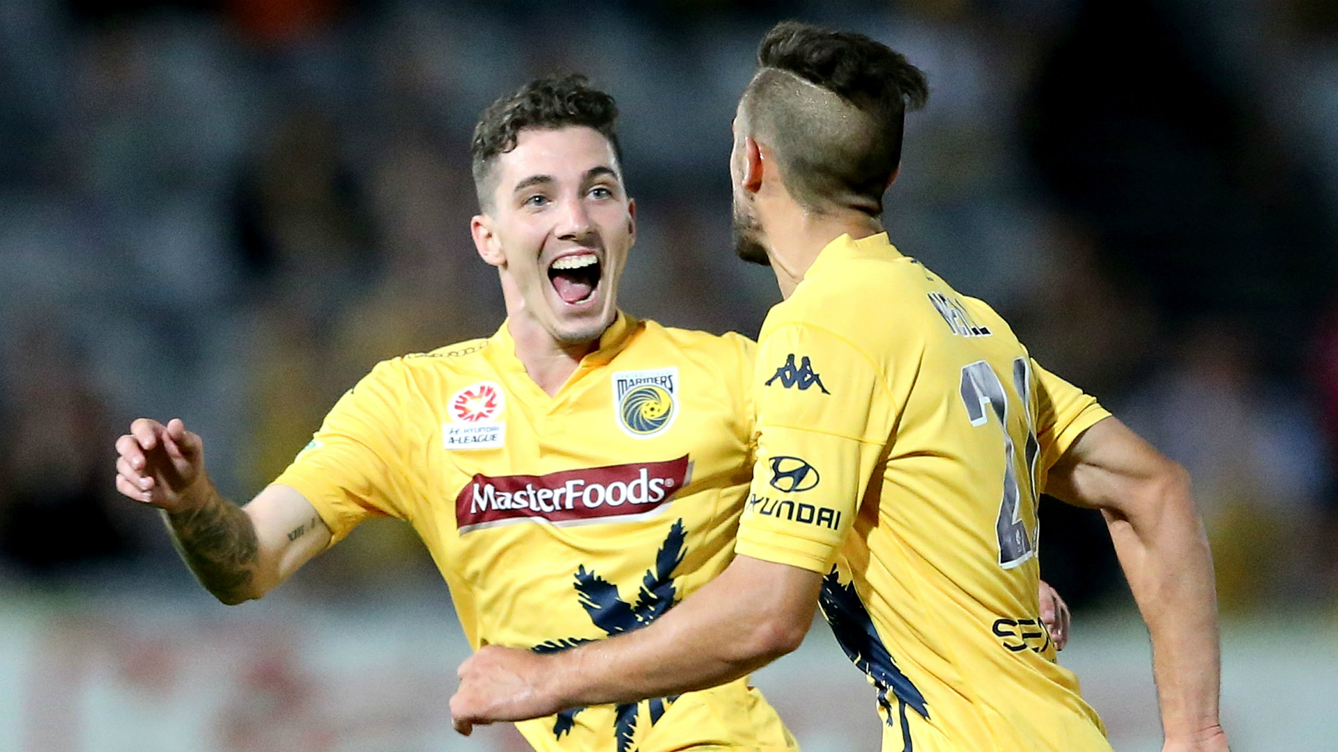 Storm Roux Central Coast Mariners