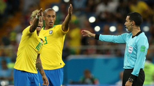 Neymar Miranda Brazil VAR Switzerland World Cup 2018