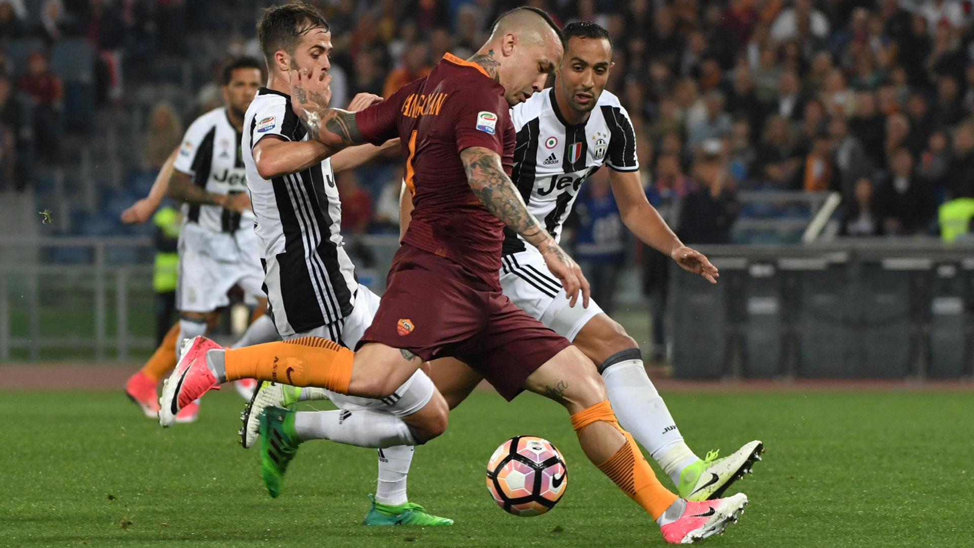 Radja Nainggolan Roma Juventus Serie A