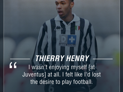 the latest 0f589 db208 Why Arsenal's greatest ever player Thierry Henry flopped at ...