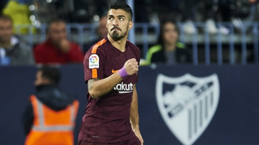 Luis Suárez Malaga Barcelona LaLiga