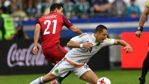 Chicharito México - Portugal Copa Confederaciones