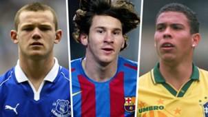 Wayne Rooney Lionel Messi Ronaldo