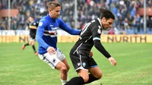 Gaston Ramirez Sergio Floccari Sampdoria SPAL Serie A