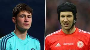 Nathan Baxter, Petr Cech, Chelsea