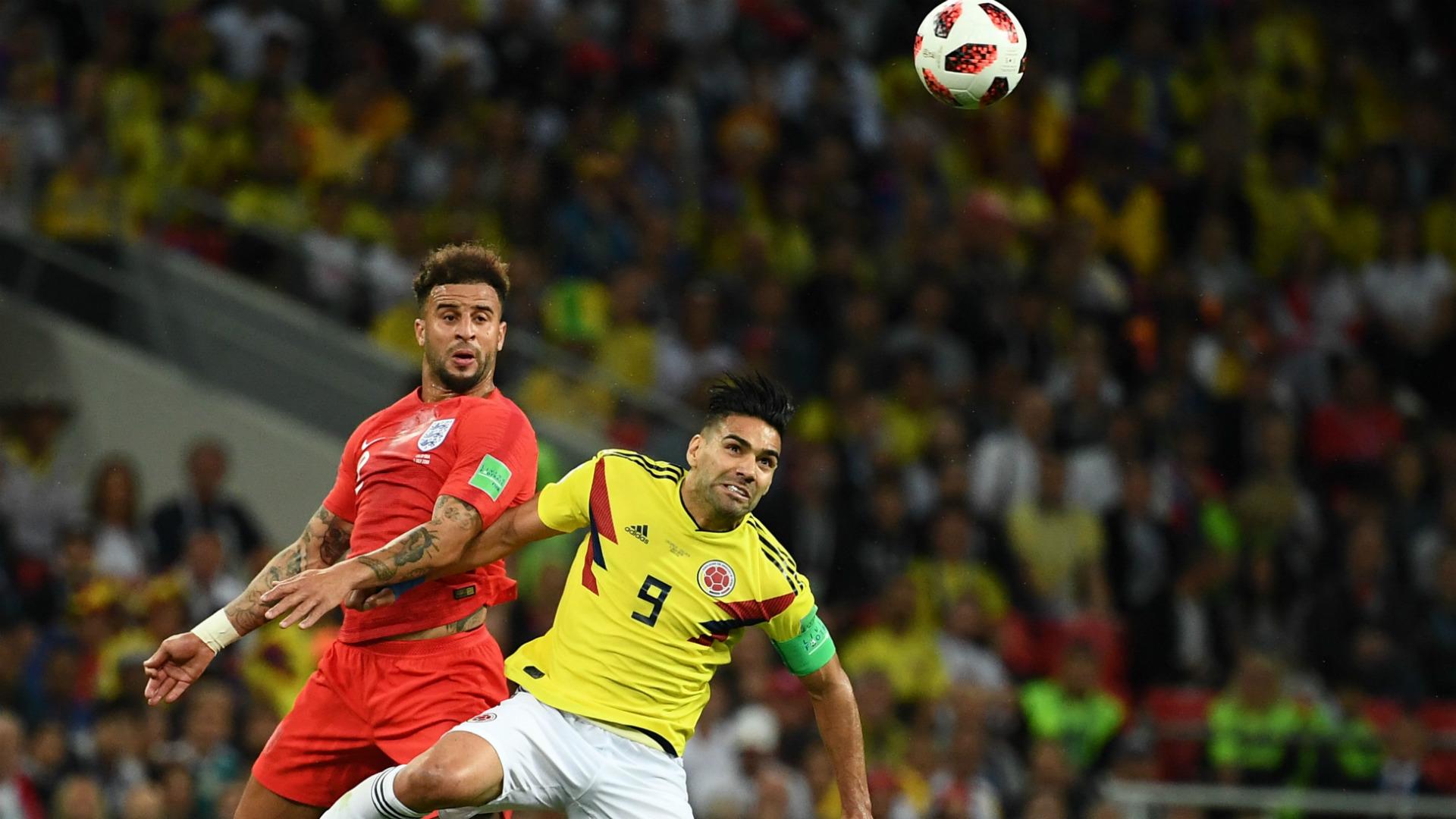 Walker Falcao Colombia England WC Russia 03072018