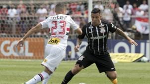 Marcos Guilherme e Guilherme Arana - São Paulo x Corinthians - 24/09/2017