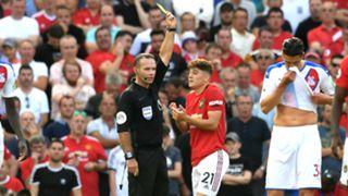 Daniel James Manchester United vs Crystal Palace 2019-20