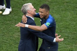Deschamps / Mbappé