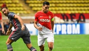 Cenk Tosun Radamel Falcao Monaco Besiktas UCL