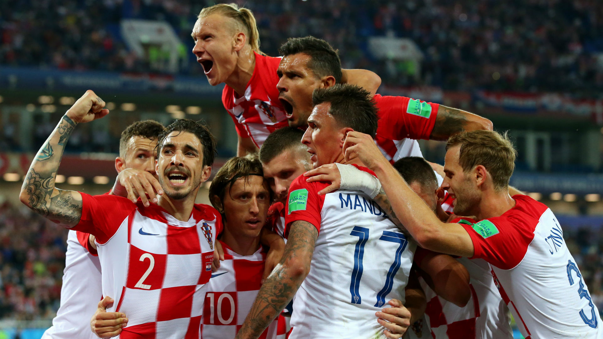 Image result for pic of croatia vs nigeria