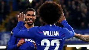 Ruben Loftus-Cheek Willian Chelsea 2018-19
