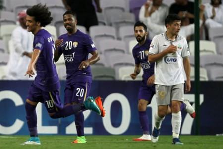 Al Ain vs Bunyodkor; Omar Abdulrahman