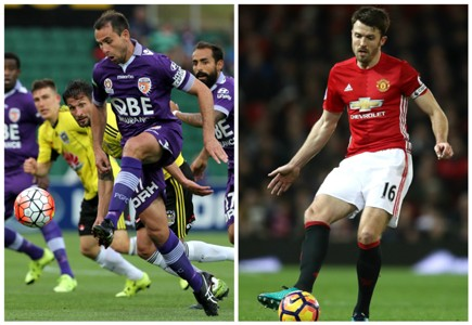 Richard Garcia Perth Glory A-League Michael Carrick Manchester United Premier League