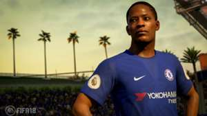 FIFA 18 Chelsea kit reveal (screenshot)