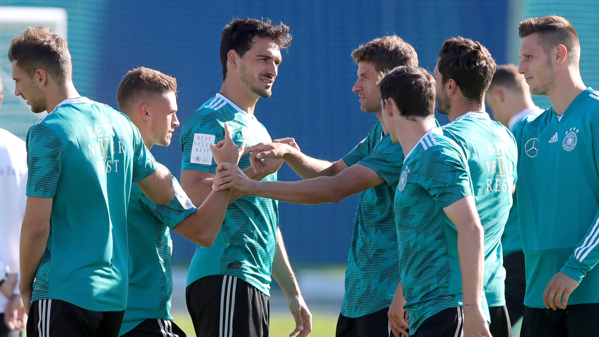 Germany training World Cup