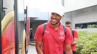 Pierre-Emerick Aubameyang Arsenal ICC 2018 Singapore