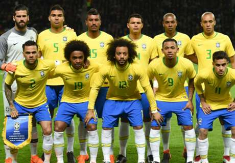 Brazil's WC squad packed with champions