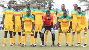Mathare United squad v Zoo Kericho.