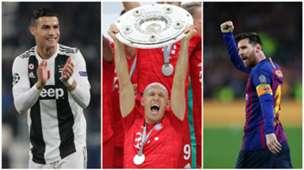 Arjen Robben split