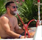 Carvajal smoking