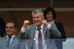Davor Suker Croatian Football Federation President