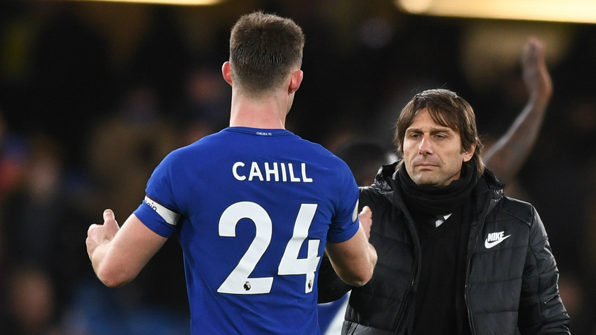 Gary Cahill, Antonio Conte, Chelsea, 17/18