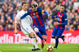 messi and ronaldo real madrid barcalona GettyImages 2242017