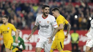 Ever Banega Sevilla Atletico Madrid Copa del Rey 23012018