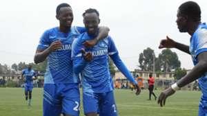 Kelvin Thairu of Nakumatt v Mathare United.