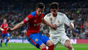 Jesus Vallejo Kristijan Bistrovic Real Madrid CSKA UCL 12122018